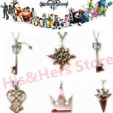 Hot Kingdom Hearts Anime Cosplay Metal Key Blade Necklace (U.S. Fast Shipping)