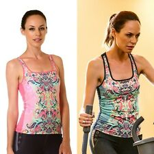 Ladies Sports Casual Top Gym Fitness Yoga Wear Women Exercise Pilates Clothes