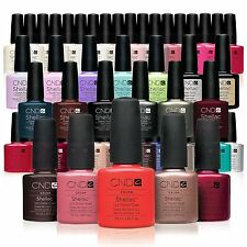 CND Shellac UV Gel Soak Off Nail Polish - 60 COLOURS +NEW Collection, Top Coat +