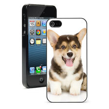 For Apple iPhone 4 4S 5 5S 5c Hard Case Cover 717 Corgie Puppy Dog