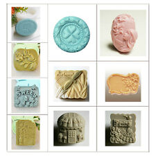 New Arrival Silicone Soap Mould Handmade Flexible Soap Mold DIY for Art Crafts