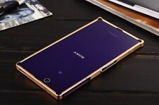 LUXURY Ultra-thin Aluminum Metal Bumper Case Cover For Sony Xperia Z Ultra XL39h