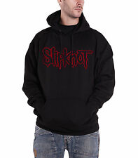 Slipknot Logo Official Mens New Black Pullover Hoodie