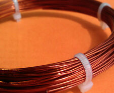 0.65mm 22Gauge AWG Enameled 100% Copper Magnet Wire conductor winding jewelry