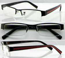 NEW Stylish Metal frame Semi Rimless Reading Glasses Unisex,Unbranded.5+3 DEPEND