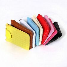 Lady Girl Cute Wallet Woven Coin Cell Phone Case Mobile Pouch Mini Shoulder Bag
