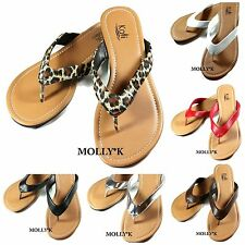 New COC Women Shoes Flip Flops Thong Flat Sandals Slipper Size 5.6.7.8.9.10.11