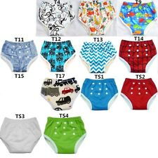 U PICK Bamboo Potty Training Pants Resuable Waterproof Snaps Baby Kids Toddler