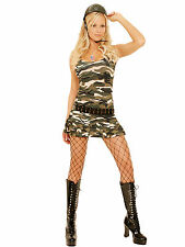 Elegant Moments Cadet Cutie Army Camouflage Costume, 8-10-12-14, #9722
