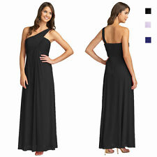 Elegant One Shoulder Crisscross Evening Dress Formal Night Gown ed7666