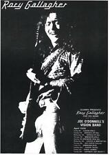RORY GALLAGHER T-SHIRT. TOUR  POSTER