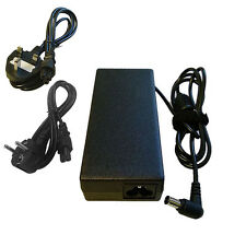 LAPTOP CHARGER FOR SONY VAIO VGP-AC19V20 VGN-NR38E VGN-NR38M + CABLE UK EU