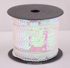 9 Colors New Clothing Cord Accessories Sexy Shiny Plastic Sequin Paillette Cord