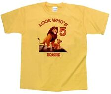 The Lion King Personalized Custom Birthday Shirt in 8 Different Colors