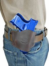 New Barsony Brown Leather Gun Quick Slide Holster Sig-Sauer Compact 9mm 40 45