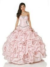 New Quinceanera Formal Prom Party Ball Gown Wedding Evening Dress Custom Sz 2-28