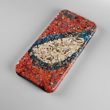 Hot Spider-man Eye Marvel Superhero Collage Art For iPhone 5s 5 4S 4 Hard Case