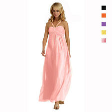 Sweetheart Long Flowing Maxi Formal Evening Gown Bridesmaid Dress ed6024