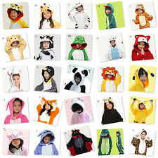 Unisex Children Kids Kigurumi Pajamas Cosplay Costumes Anime Onesies Sleepwear