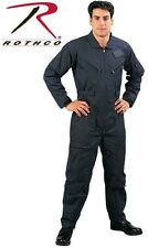 BLUE Military Style Flight Suit Air Force Style Fighter Flight Coveralls 7503