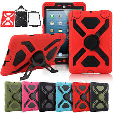 Survivor Military Shock Proof Defender Heavy Duty Case Cover for iPad 4 3 2