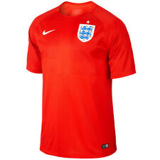 Nike England World Cup WC 2014 Away Soccer Jersey Brand New Red - White
