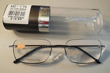 InSight Full & Compact EdgeGlow Reading Glasses in Tube Men's Retails $19.99