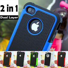 Durable 2 Layers Design Shock Proof Case Cover For Samsung S3/S4/S5