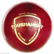 SG Tournament Red 4 Piece Ball LEATHER Cricket Ball 6x/12x