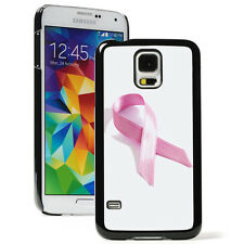 For Samsung Galaxy S3 S4 S5 Hard Case Cover 388 Breast Cancer Awareness Ribbon
