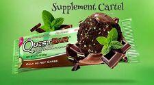QUEST PROTEIN BARS Box of 12 Gluten FREE Sugar FREE All Flavors