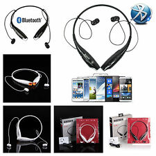 HV-800 Tone Bluetooth Wireless Headset Neckband Stereo For Iphone 5S 6 LG G2 New