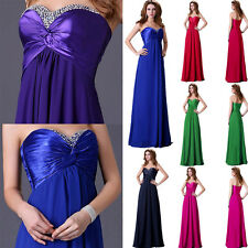 IN 8Colors Mermaid Prom Formal Party Ball Evening Pageant Dresses Wedding Gown