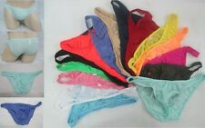 new sexy silky feel men's underwear brief pants free size many colors #318B