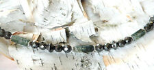 MEN'S WOMENS'S Magnetic MOSS AGATE Necklace POWERFUL THERAPY! w/ magnetic clasp