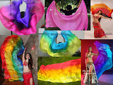 "2.1m*0.9m(83""*35"") 5mm KIDS belly dance silk veil+carry bag! free shipping!"