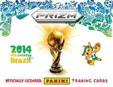Panini Prizm 2014 World Cup -  BLUE AND RED Blue Wave Prizm Cards