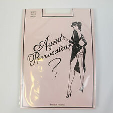 NEW Agent Provocateur White Frill Top Hold Up Stocking - Wedding Bridal RRP £30