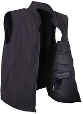CONCEALED CARRY TACTICAL SOFTSHELL TACTICAL VEST 86500 86501 86502