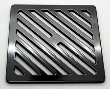 """6"""" Square metal steel Gully Grid Heavy Duty Drain Cover like cast iron, stronger"""