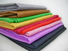quality Lining fabric colourful 150cm wide satin curtain dress lining material