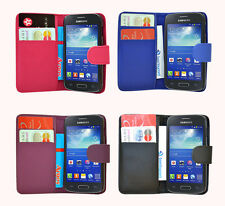 New Wallet Flip Case Cover + Free Stylus Pen For Samsung Galaxy Express 2 G3815