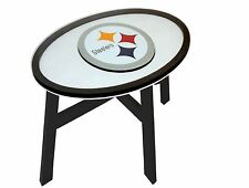 """NFL Team Logo End Table 31"""" SELECT YOUR NFL TEAM - Brand New"""