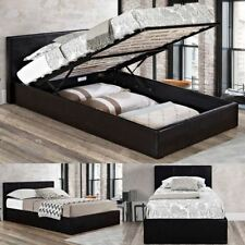 Happy Beds Berlin Ottoman Contemporary Leather Bed Furniture Home Bedroom New