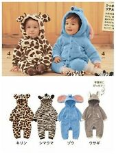 Spring Autumn Winter Baby Toddler Boys Girls Animal Style Baby Romper
