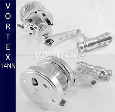 OMOTO VORTEX 14NN SERIES Lever Drag SPORT JIGGING BIG GAME REEL Silver