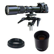 Rokinon 500mm 1000mm F/8 Preset Telephoto Lens (Black)