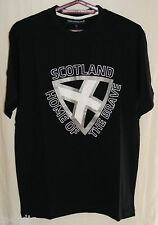 Scotland Home of the Brave T Shirt - Sizes S - XL BNWT