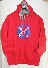 Scotland Home of the Brave Hooded Top - Navy or Red - Sizes S-XL BNWT