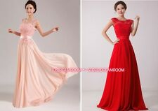 Y004 Hot Pink Long Formal Evening Prom Party Dress Bridesmaid Dresses Ball Gown
